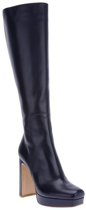 Pollini high-heeled platform boot