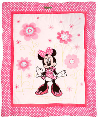 Disney Minnie Mouse Crib Bedding Set - Personalizable