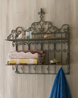 Horchow Towel Shelf