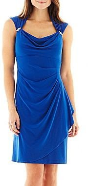 JCPenney Scarlett Side-Drape Dress