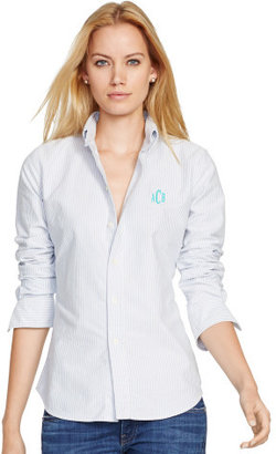 Personalization Custom-Fit Oxford Shirt $89.50 thestylecure.com
