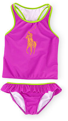 Polo Ralph Lauren Little Girls' Nylon Swimsuit