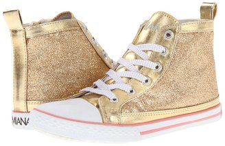 Amiana 15/A5176 FA12 (Toddler/Youth/Adult) (Light Gold Metallic Glitter) - Footwear