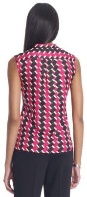 Jones New York Collection JONES NEW YORK Sleeveless V-Neck Top