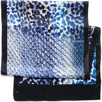 Vince Camuto Ombre Animal Oblong
