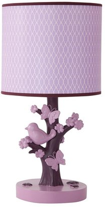 Lambs & Ivy plumberry lamp