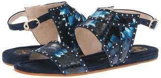 House Of Harlow Abra (Soldier Blue) - Footwear
