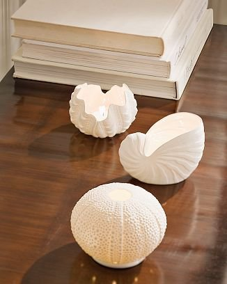 Williams-Sonoma Decorative Shell Votives