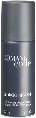 Giorgio Armani Black Code For Men Deodorant Spray, 150ml