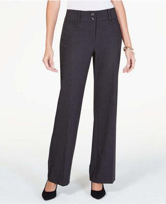 Alfani Curvy-Fit Slimming Bootcut Pants, Regular, Short, & Long Lengths