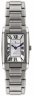 Dreyfuss & Co Women's Seafarer Stainless Steel Bracelet Strap Watch