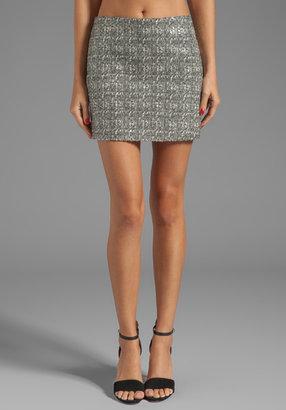 Alice + Olivia Mannine Mini Skirt