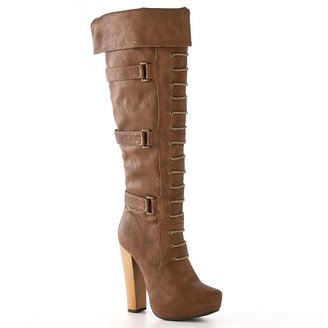 Sacred heart kalico over-the-knee boots - women