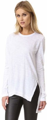 Wilt Asymmetrical Slouchy Tunic $123 thestylecure.com