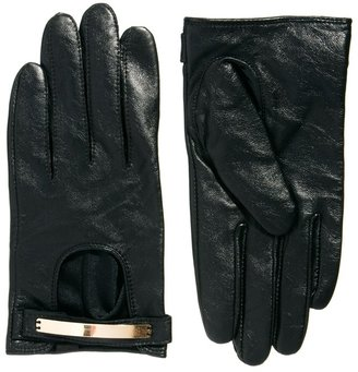 "Cambridge Silversmiths Satchel Company Exclusive To ASOS 11"" Black Detachable Strap Satchel"