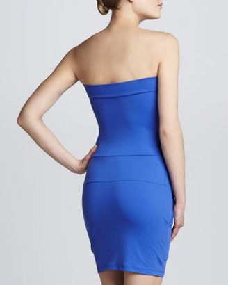 Susana Monaco Strapless Pocket Dress