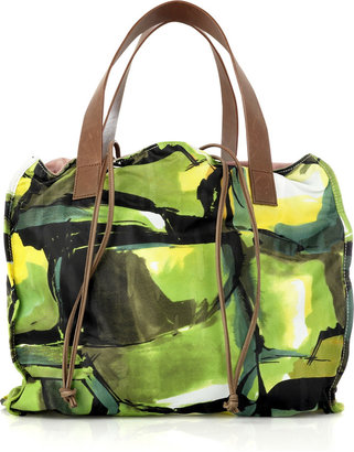 Marni Slouchy fabric tote