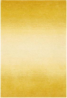 "Liora Manne Area Rug, Ombre 9663/09 Horizon Yellow 2'3"" x 8' Runner Rug"