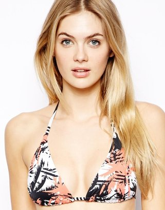 Sunseeker Palm Retro Slide Triangle Bikini Top