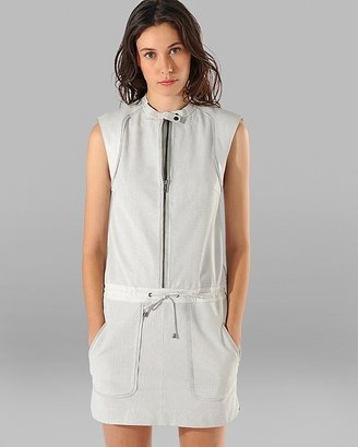 Maje Leather Dress - Armstrong Perforated