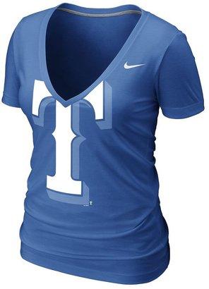 Nike texas rangers burnout tee - women
