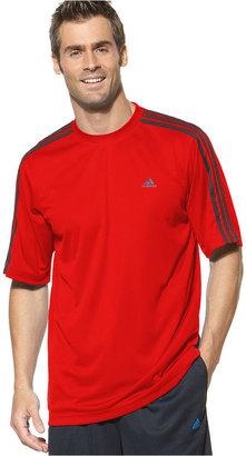 adidas Big and Tall T-Shirt, Essential Three Stripes Tee