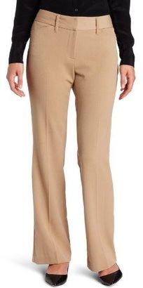 Rafaella Women's Curvy Slim Flare Pant