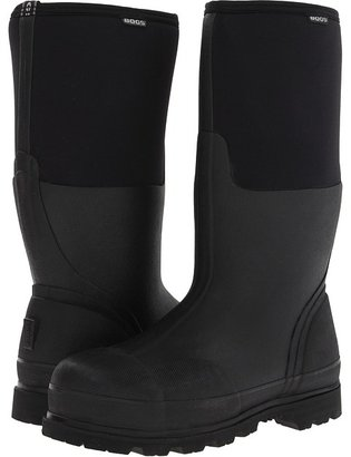 Bogs Rancher Steel Toe (Black) - Footwear