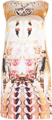 Mary Katrantzou Cakeer Flake Silk Shift Dress