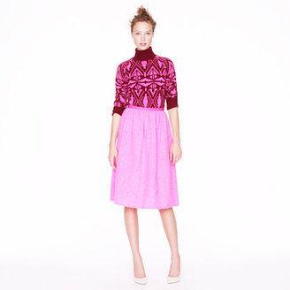 J.Crew Collection pink shimmer skirt