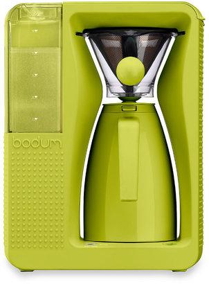 Bodum Bistro 40 oz. Pour Over Electric Coffee Machine in Green