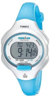 Timex - IRONMAN Traditional 10-Lap Mid-Size Resin Strap Watch Digital Watches $45 thestylecure.com