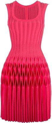 Alaia honeycomb pleated dress