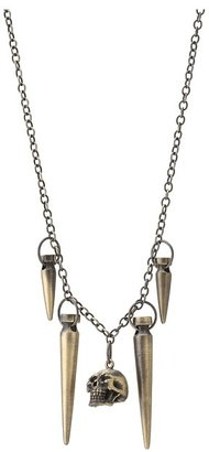Obey Slay Necklace (Antique Brass) - Jewelry
