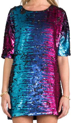 Blaque Label Sequins Shift Dress