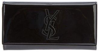 Saint Laurent long logo wallet