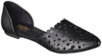 Mossimo Women's Lainey Perforated Two-Piece Flats - Assorted Colors