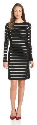 Karen Kane Women's Contrast Panel Dress