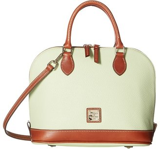 Dooney & Bourke - Pebble Zip Zip Satchel Satchel Handbags $198 thestylecure.com