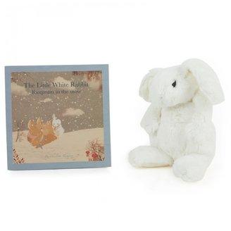 White Rabbit England Little White Rabbit Toy & Book Set