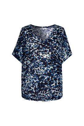 Gerard Darel Jaslyn - Loose-fitting Printed Cotton-blend T-shirt