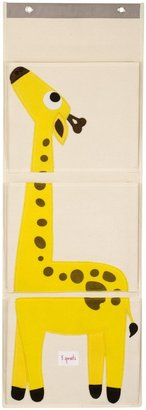 3 Sprouts Hanging Wall Organizer - Giraffe