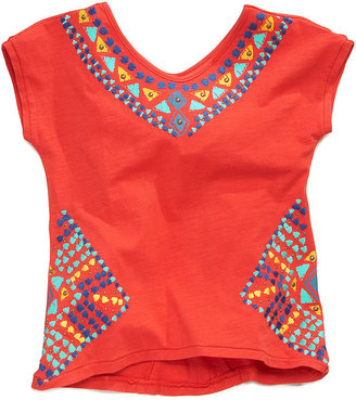 Lucky Brand Kids Shirt, Girls Tribal Print T-Shirt