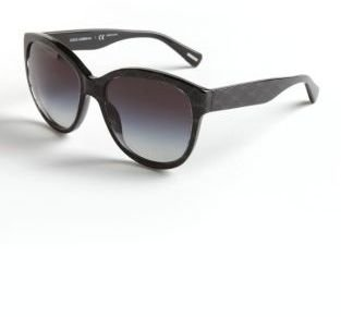 Dolce & Gabbana Logo Wayfarer Sunglasses