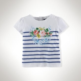 Floral Cotton Graphic Tee
