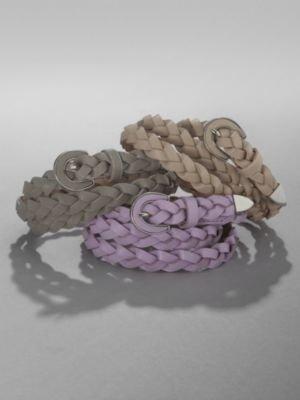 New York & Co. Skinny Braided Belt