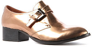 Jeffrey Campbell The Bucanan Loafer in Bronze