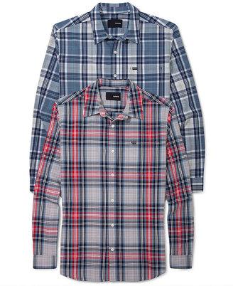 Hurley Shirt, Plaid Caste Shirt