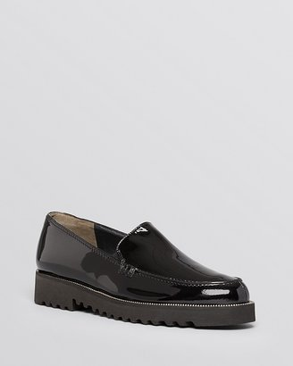 Paul Green Ariana Patent Platform Loafer Flats $315 thestylecure.com