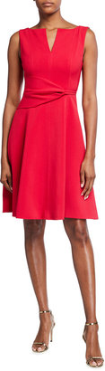Toccin Sleeveless Fit-and-Flare Dress